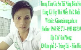 Tìm gia sư tại Biên Hòa